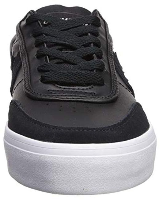 078c3335314e ... Converse - Black Courtlandt Leather Suede Low Top Sneaker for Men - Lyst  ...