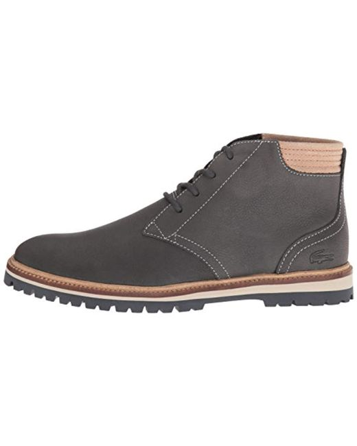 a74c768c6facf8 ... Lacoste - Gray Montbard 416 1 Fashion Sneaker Chukka Boot for Men -  Lyst ...