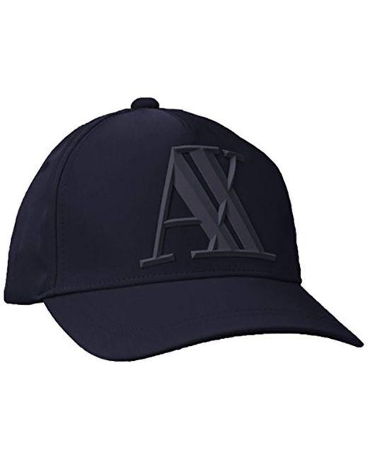 Armani Exchange - Blue | 3d Rubber X Tonl Logo for Men - Lyst