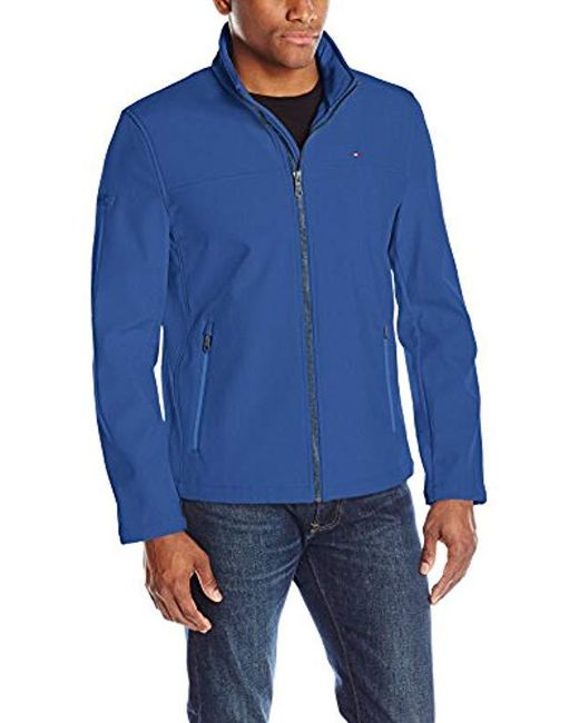 4e71b3f9 Lyst - Tommy Hilfiger Classic Soft Shell Jacket in Blue for Men ...