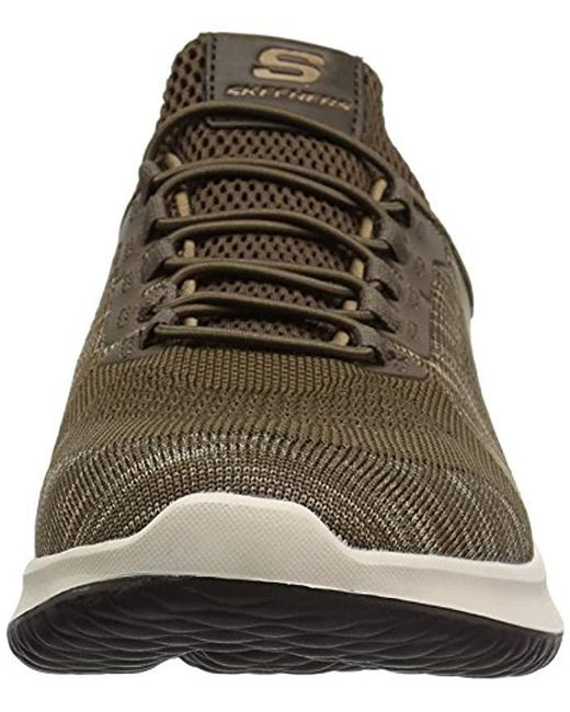 a61e7fb8624 ... Skechers - Brown Relaxed Fit-delson-brewton Sneaker for Men - Lyst ...
