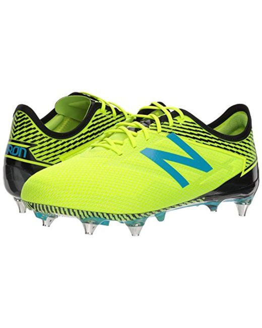 9b1ec90b225 ... New Balance - Yellow Furon 3.0 Pro Sg Soccer Shoe for Men - Lyst ...