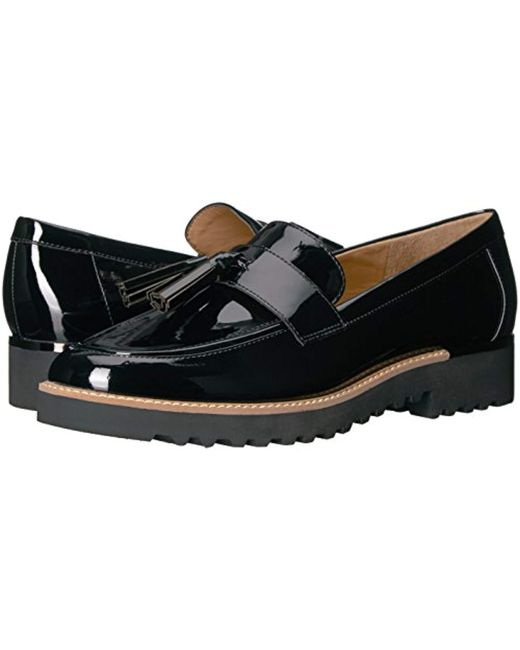 aa5fb98e19b9 Lyst - Franco Sarto Carolynn Loafer Flat in Black - Save 4%