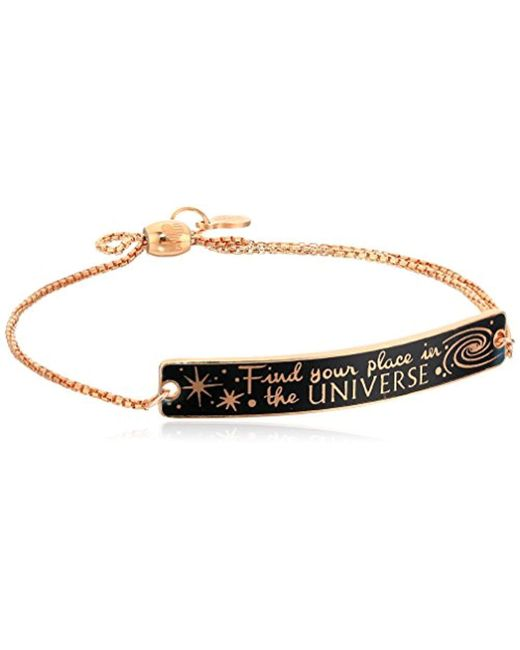 ALEX AND ANI - Metallic S Wrinkle In Time - Find Your Place In The Universe Pull Chain Bracelet - Lyst