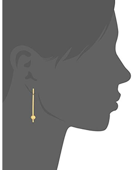 Elizabeth and James - Metallic Esser Drop Earring, Gold - Lyst