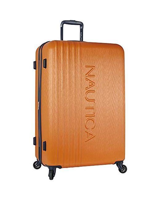 "Nautica - Multicolor 28"" Hardside Spinner Luggage - Lyst"
