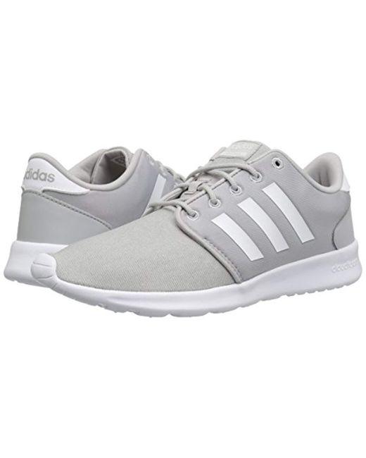 112576a8abf ... Adidas - Gray Cloudfoam Qt Racer Running Shoe - Lyst ...