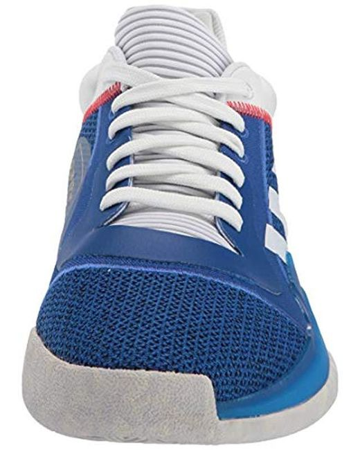 5b830c8e60b ... Adidas - Blue Marquee Boost Low for Men - Lyst ...
