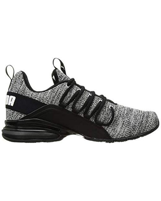 5b27c78de3b16 Lyst - PUMA Axelion Sneaker, Black-white 10 W Us in Black for Men