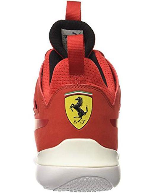b9209c50a PUMA Sf Evo Cat Mid Sneaker in Red for Men - Save 45% - Lyst