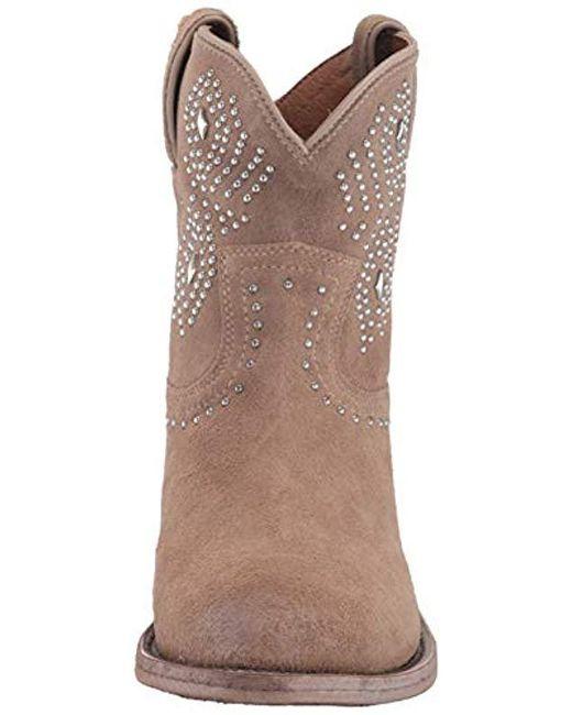 7954a240e05 Women's Brown Billy Stud Short Western Boot