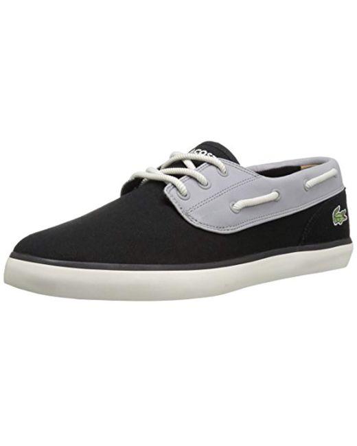 Lacoste - Black Jouer Deck 117 1 Fashion Sneaker for Men - Lyst