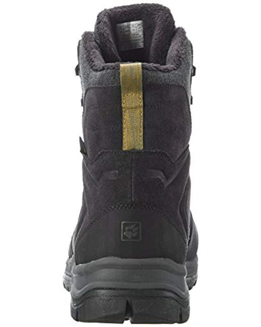 3b7d6830ca ... Jack Wolfskin - Black Thunder Bay Texapore High M Fashion Boot for Men  - Lyst ...