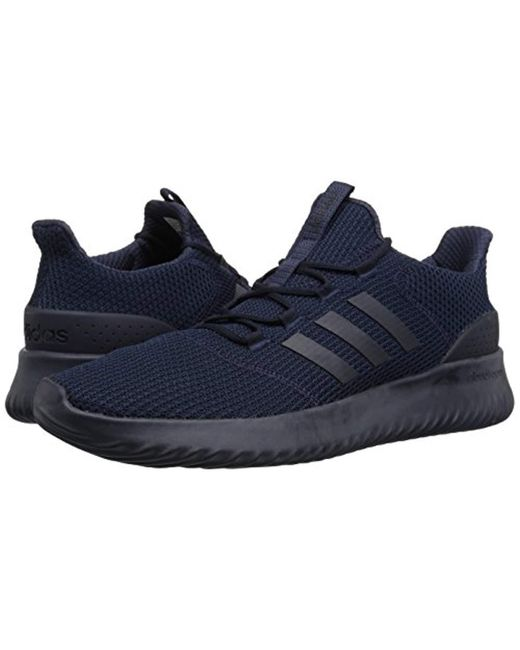 pretty nice 978ef a5577 ... Adidas - Blue Cloudfoam Ultimate Running Shoe for Men - Lyst ...