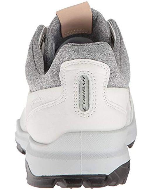1fc09db2da5b0 ... Ecco - White Biom Hybrid 3 Tie Gore-tex Golf Shoe for Men - Lyst ...