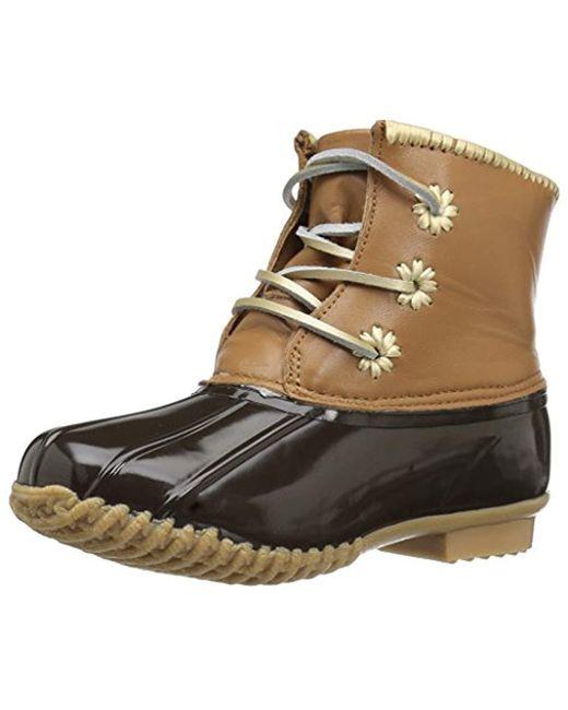 Jack Rogers - Brown Chloe Classic Rain Boot - Lyst