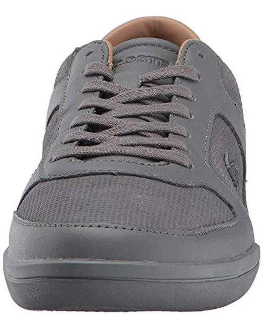 f24684b4544153 ... Lacoste - Gray Court-minimal 317 1 Sneaker for Men - Lyst ...