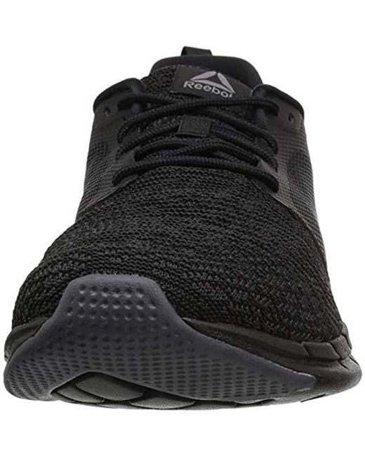 2ceca8e48f9f0e ... Reebok - Black Print Run 3.0 Shoe for Men - Lyst ...