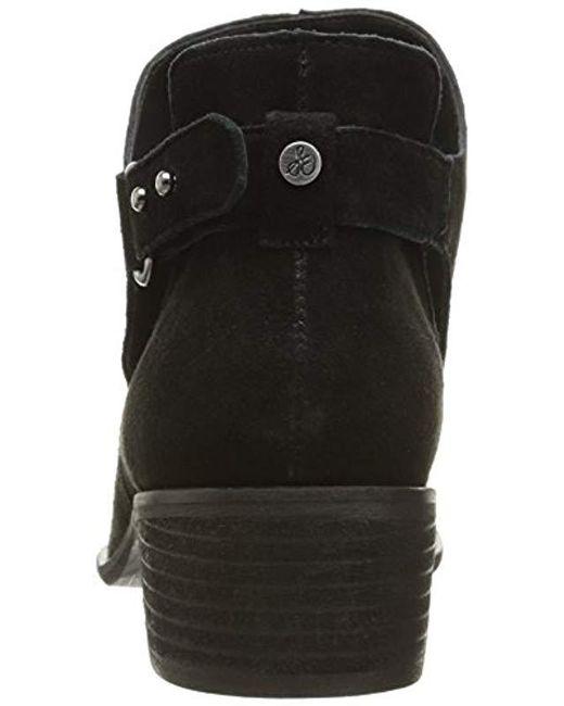 37c2a58302c1 ... Sam Edelman - Black Pierson Ankle Bootie - Lyst ...