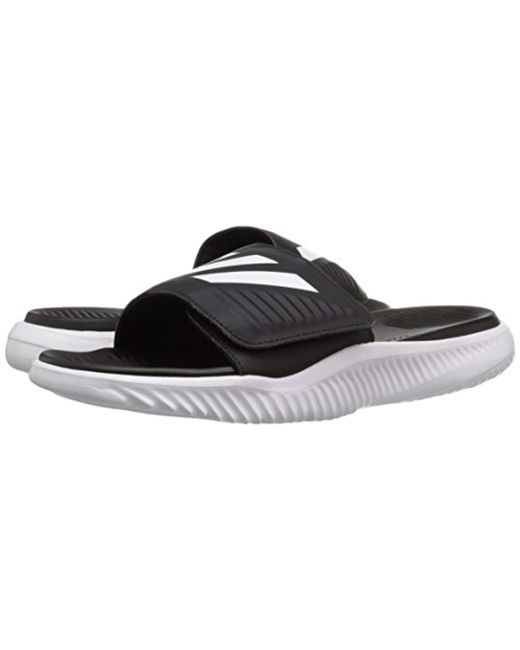 96c81759b Lyst - adidas Alphabounce Slide in White for Men - Save 17%