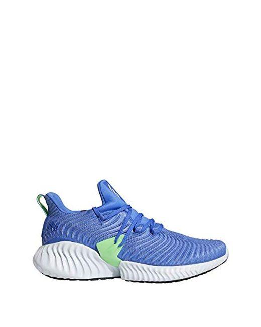 quality design 7fb29 e214d Adidas - Blue Alphabounce Instinct Running Shoe for Men - Lyst ...