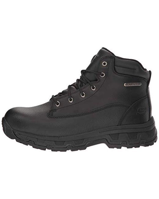 19ea6bcc267c8 Lyst - Skechers Morson-sinatro Hiking Boot in Black for Men - Save 24%