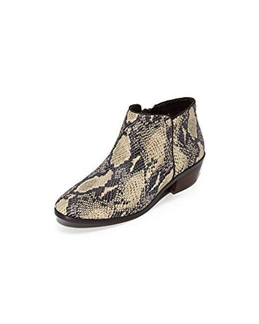 aeadb8c709bd5f Sam Edelman - Multicolor Petty Ankle Boot - Lyst ...