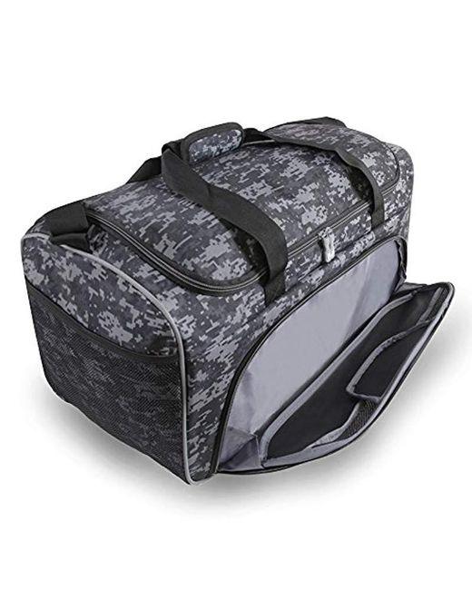 eaf2f63c3ba2 ... Fila - Black Speedlight Medium Duffel Gym Sports Bag Gym Bag - Lyst ...