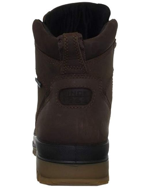869f5a0b7d8d Lyst - Ecco Track 6 Gore-tex Moc Toe High Winter Boot in Brown for ...