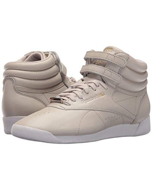 76f41a0b94f ... Reebok - White F s Hi Muted Walking Shoe - Lyst ...