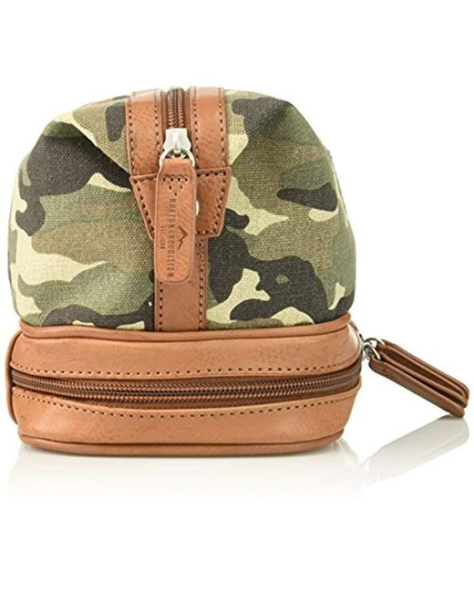 9d243f2552 ... Buxton - Multicolor Expedition Ii Huntington Gear Bottom Zip Canvas Travel  Kit for Men - Lyst ...