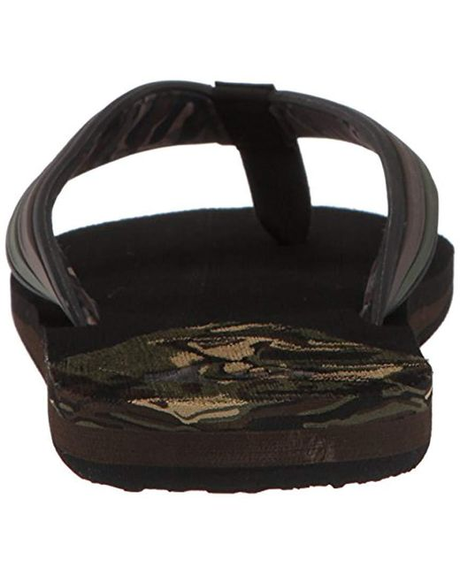 1d0a9e2109620 ... Quiksilver - Black Molokai New Wave Deluxe Flip-flop Sandal for Men -  Lyst ...