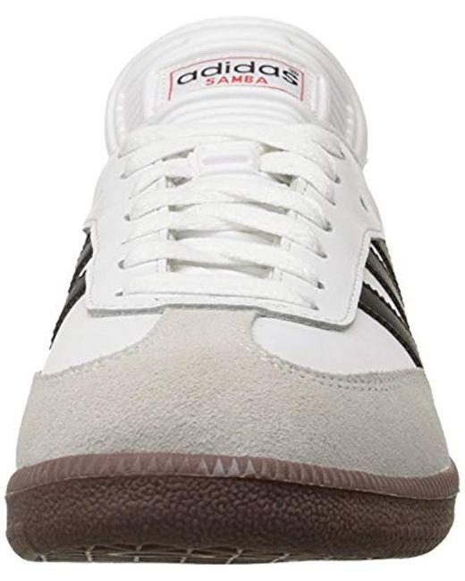 0d680c7a1 ... Adidas - Samba(r) Classic (black white) Men s Soccer Shoes for ...