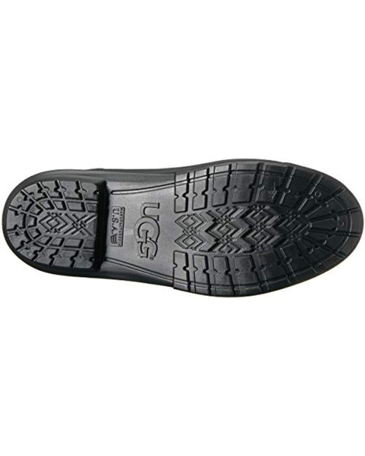 839ab81023f Lyst - Ugg Sienna Matte Rain Boot in Black