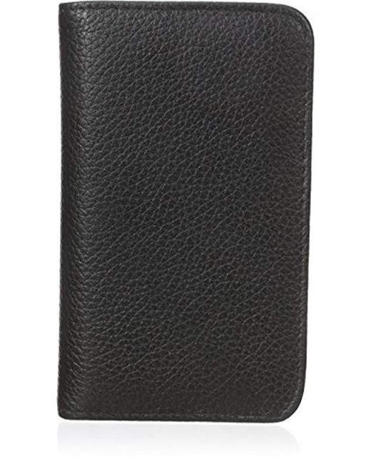 Buxton - Black Snap Card Case - Lyst