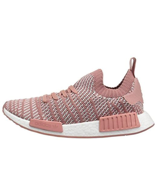 173ad5939aad Lyst - adidas Originals Nmd r1 Stlt Pk Running Shoe in Pink - Save 67%