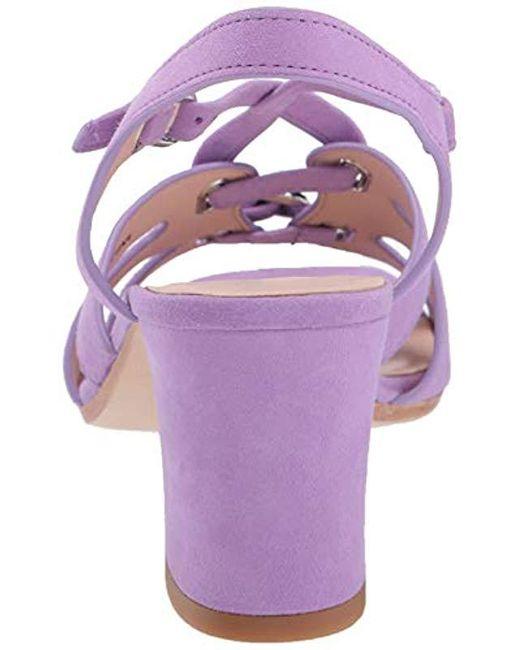 8e8a360be8 Kate Spade Ella Sandals in Purple - Save 30% - Lyst