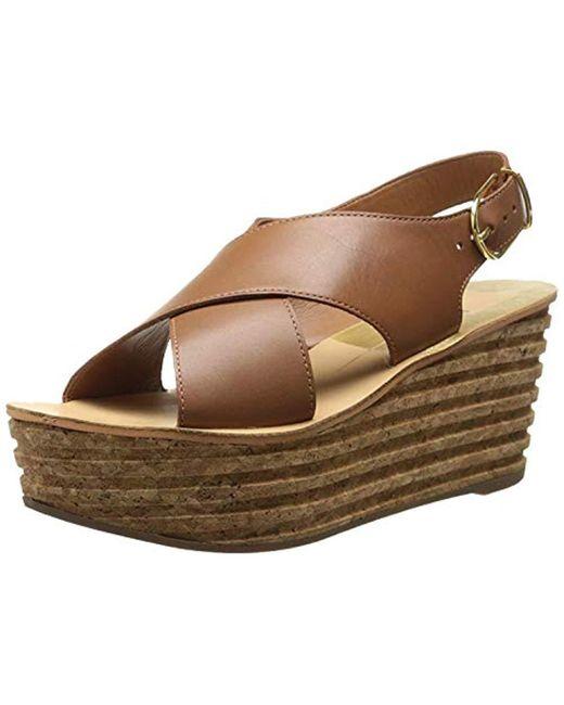 463ff8f7199 Dolce Vita - Brown Maize Platform Sandal - Lyst ...
