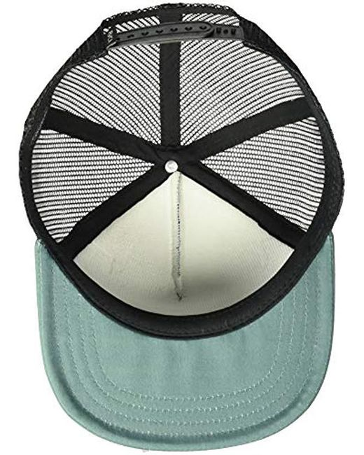 separation shoes 1c55f 12adf ... real rvca green islands balance box trucker hat for men lyst dc307 0e39e