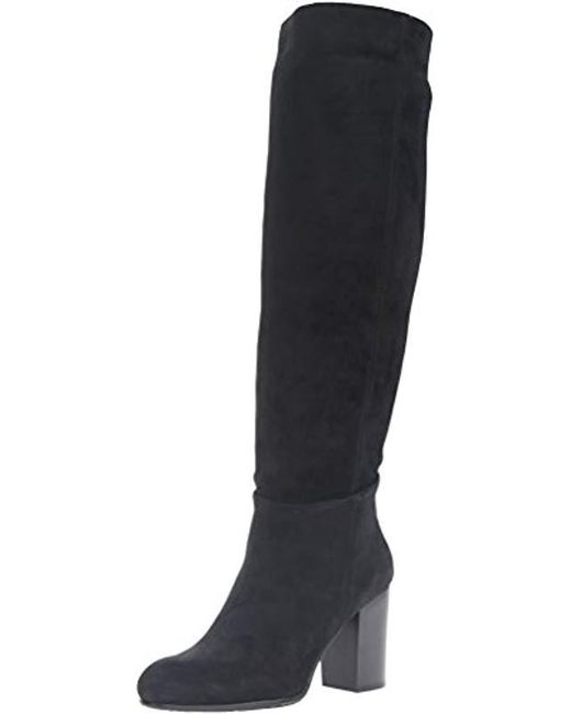 573761c18eccb1 Lyst - Sam Edelman Silas Slouch Boot in Black - Save 24%