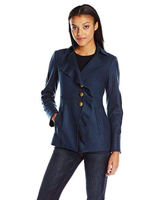 Nanette Lepore - Blue Posh Perfect Jacket - Lyst