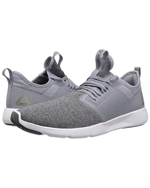 Lyst - Reebok Plus Lite 2.0 Hthr Sneaker in Gray for Men - Save 55% 5156228fb