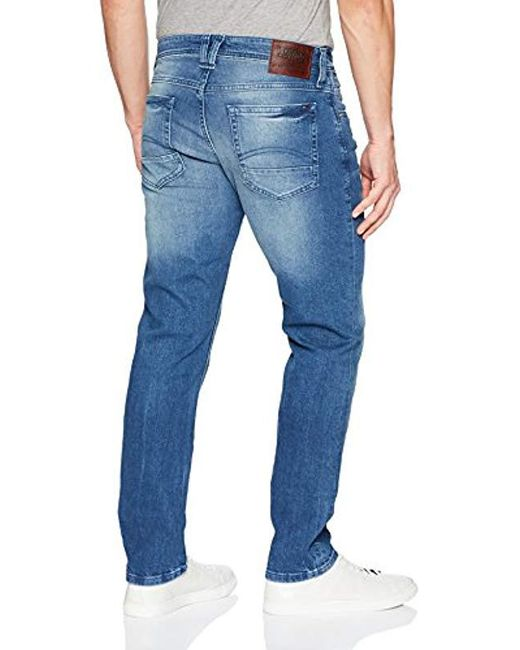 173beaa0 ... Tommy Hilfiger - Blue Original Ronnie Straight Athletic Fit Jeans for  Men - Lyst ...