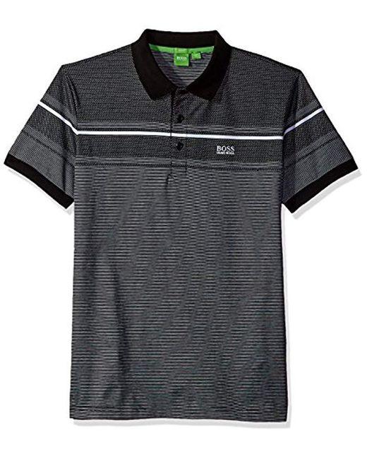 BOSS - Black Boss Green Paule 5 Short Sleeve Polo Shirt for Men - Lyst