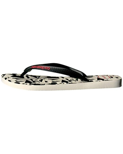 b0d10e616 ... Havaianas - Black Disney Stylish Sandal Flip Flop - Lyst ...
