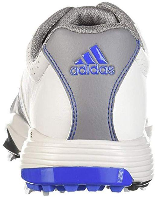 save off b7b52 6b485 ... Adidas - Gray 360 Traxion Boa Golf Shoe for Men - Lyst ...