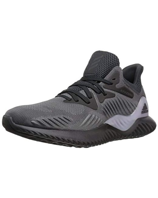 Adidas - Gray Alphabounce Beyond W Running Shoe - Lyst