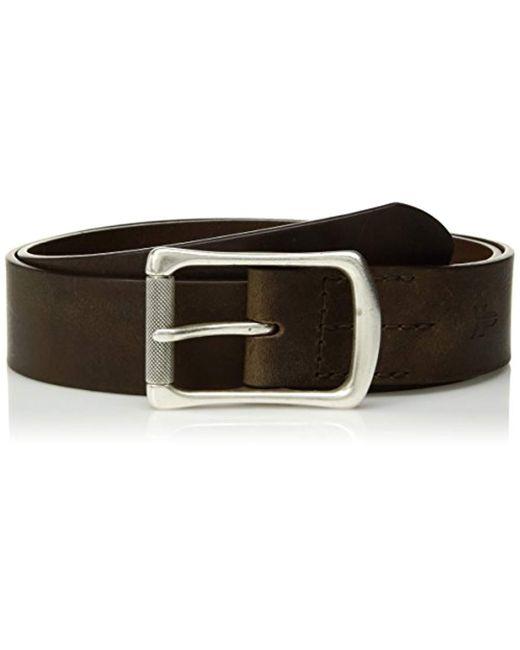 Frye - Green Leather Engineer Belt for Men - Lyst