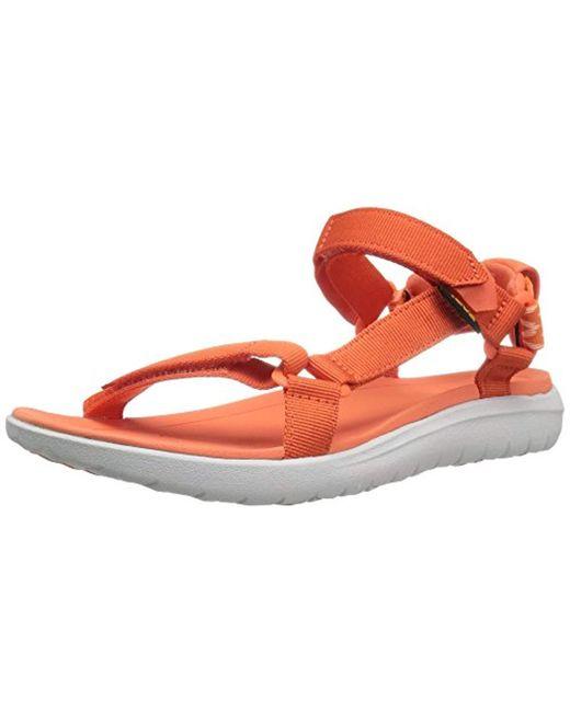 eca9df59c290 Lyst - Teva W Sanborn Universal Sandal in Orange - Save 14%
