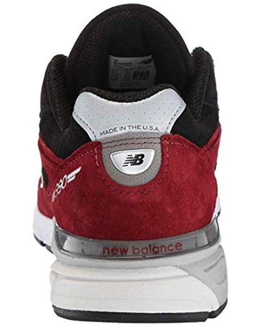 00d6e580a3403 New Balance 990v4 in Red for Men - Save 49% - Lyst
